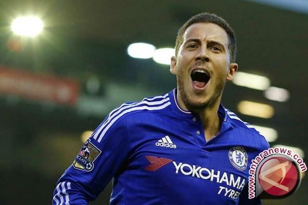 Eden Hazard bertekad terus membela Chelsea