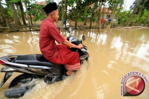 Banjir Luapan Sungai Terjang Pedalaman Aceh Barat