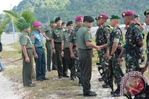 Prajurit Paskhas TNI-AU Amankan Pilkada di Halim