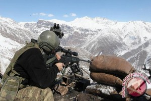 Dua Tentara Turki Tewas Lawan Petempur Kurdi