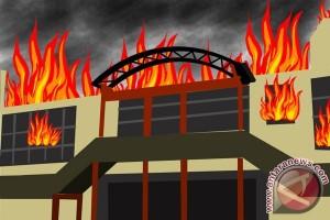 Kebakaran Pasar di Bengkalis Tewaskan Seorang Bayi