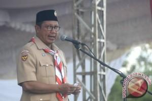 Menteri Agama Buka Perkemahan Madrasah Nasional