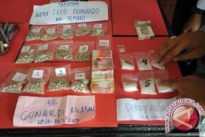 Polisi Tangkap Warga Simpan Sabu-Sabu