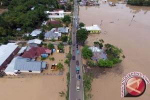 Banjir Dua Meter Rendam Tiga Kecamatan di Bone Bolango
