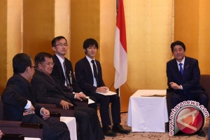 Wapres Promosikan Asian Games Pada PM Abe