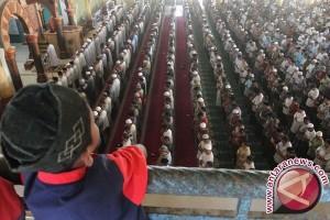 Pemkab Kabupaten Bangka Barat Gelar Shalat Id di Gelora Muntok