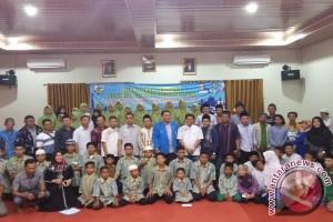 KNPI Kepulauan Babel Santuni Puluhan Anak Yatim Piatu