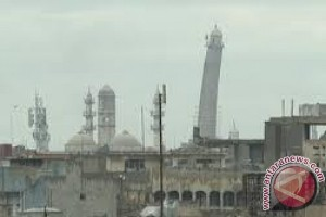 ISIS Ledakkan Masjid Besar Al-Nuri di Kota Mosul