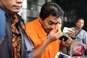 KPK Perpanjang Penahanan Tiga Tersangka BW Bengkulu