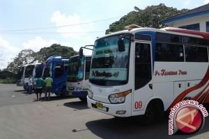 Jumlah Penumpang Bus di Terminal Girimaya Pangkalpinang Meningkat
