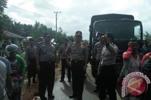 Kapolda Kepulauan Babel Pantau Banjir di Kabupaten Belitung Timur