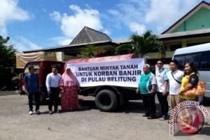 Pertamina Bantu Korban Banjir di Pulau Belitung