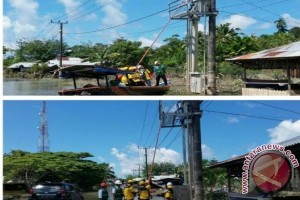 PLN Pulihkan 99 Persen Listrik Belitung Timur