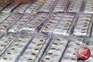 Polsek di Hulu Sungai Selatan Temukan 2.650 Butir Zenith