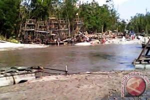 Nelayan Minta Penambang Liar di Sungai Rambat Ditindak