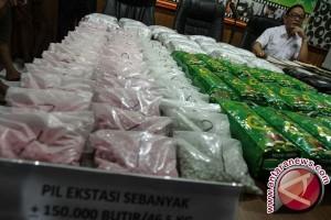 Kepolisian Thailand Sita Narkoba Senilai Rp400 Miliar