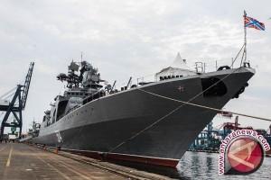 Rusia Pamer Kekuatan Angkatan Laut