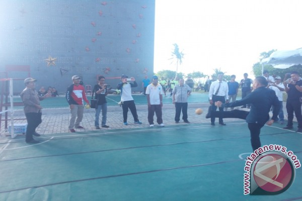 Pemkab Bangka Tengah Anggarkan Dana Pembangunan Venue Sepak Takraw