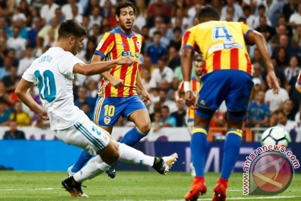 Gol tunggal Asensio bawa Madrid menang 1-0 atas Leganes