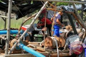 Polres Kabupaten Bangka Amankan Pelaku Tambang Ilegal
