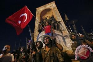Turki Tahan 42 Tersangka Pemberontak Dalam Pembersihan