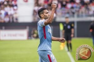 Falcao Pimpin Daftar Pencetak Gol Liga Prancis