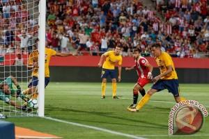 Atletico Tahan Imbang Girona 2-2 Dengan 10 Pemain