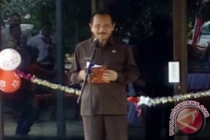 Bupati Parhan Ali Apresiasi Kreativitas SLB Muntok
