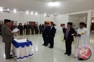 Bupati Parhan Ali Lantik Tiga Pejabat Eselon II