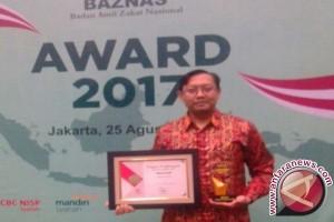 Antara Raih Penghargaan Media Pendukung Kebangkitan Zakat