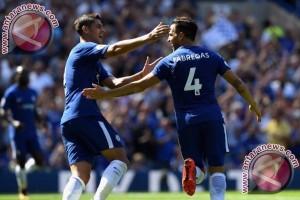 Chelsea Tundukkan Everton Berkat Gol Morata dan Fabregas