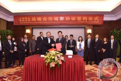 PT Timah - Yunnan Tin Group Jalin Kerjasama Strategis