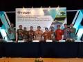 Kegiatan Due Diligance Meeting dan Publik Exspose Penawaran Umum Berkelanjutan Obligasi Berkelanjutan I Timah Tahap I Tahun 2017 dan Sukuk Ijarah Berkelanjutan I Timah Tahap I tahun 2017 di Jakarta, Kamis (24/8/2017). (Foto: Humas PT Timah)