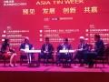 Dirut PT Timah (Persero) Tbk Mochtar Riza Pahlevi Tabrani saat menjadi pembicara di Asia Tin Week 2017 di Kunming, China, Kamis (14/9). (Foto: Humas PT Timah)