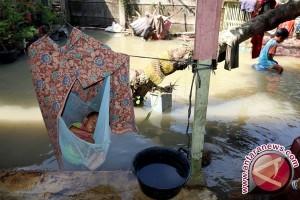 Puluhan Rumah di Medan Terendam Banjir