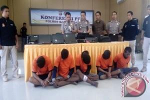 Polisi Bangka Barat Ringkus Anggota Komplotan Pencuri