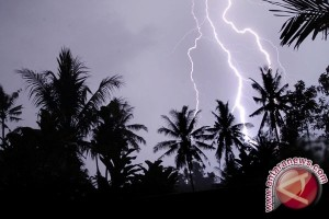BMKG: Kepulauan Babel Berpotensi Dilanda Hujan Petir