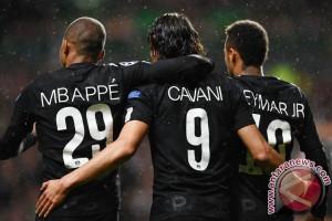 PSG Libas Anderlecht 4-0, Neymar-Cavani Cetak Gol