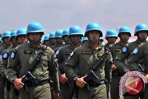 22 Prajurit TNI Naik Pangkat di Kongo