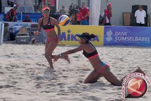 Turnamen Voli Pantai di Jakabaring Diikuti 15 Negara