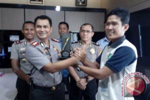 Pokja Wartawan Apresiasi Keterbukaan Informasi di Polres Bangka Barat
