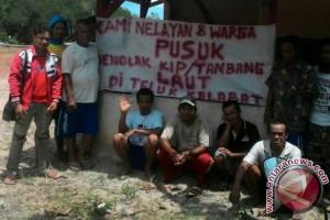 Nelayan Desa Pusuk Tolak Rencana Penambangan di Teluk Kelabat