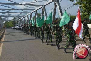 Hari Santri Nasional, Ribuan Santri Senam Islam Nusantara