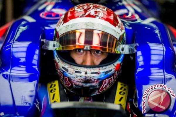 Sean Gelael akan tampil dengan Toro Rosso di FP1 GP Amerika