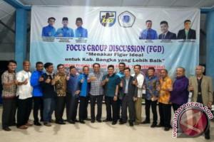 JIP FISIP UBB dan KNPI Kabupaten Bangka Gelar FGD