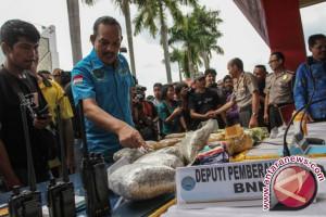 Geliat pengungkapan narkoba di Indonesia