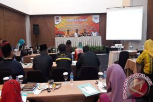 KPU Pangkalpinang Sosialisasikan Tahapan Pileg dan Pilpres