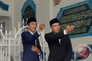 Presiden Sampaikan Pesan Persatuan di Pesantren Lombok