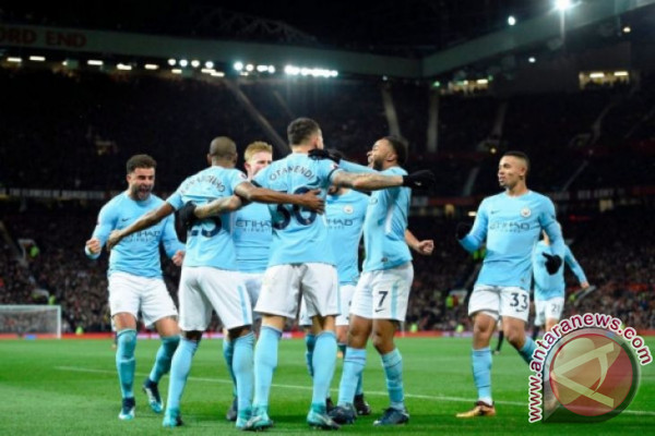Manchester City Kalahkan Manchester United 2-1 di Old Trafford