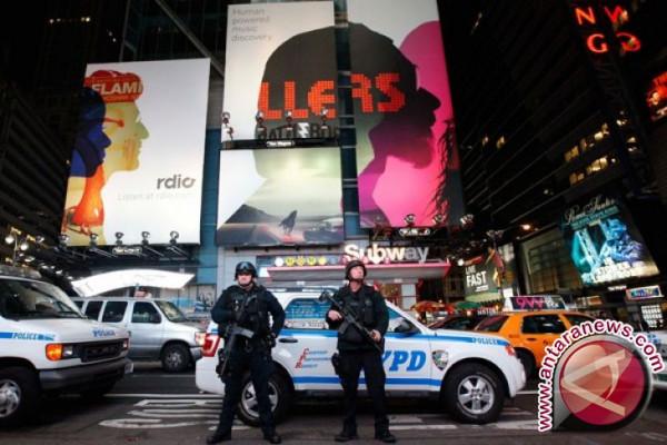 Kepolisian New York Perketat Pengamanan Pascapercobaan Pengeboman Bunuh Diri